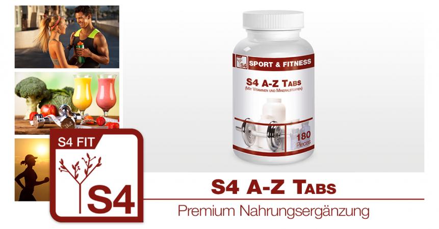 s4 fit s4 vitamin tabletten a z. Black Bedroom Furniture Sets. Home Design Ideas